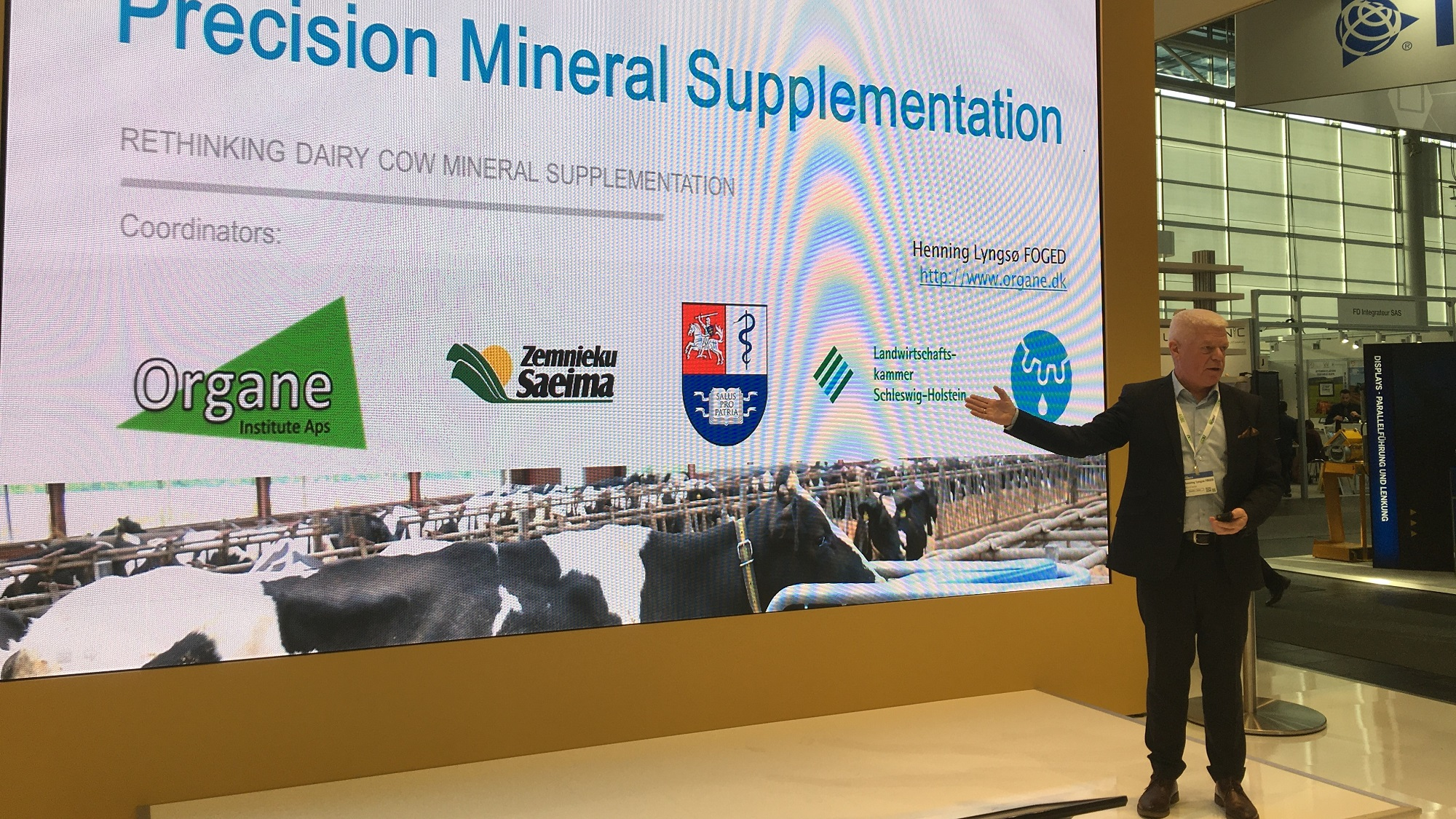 Showcasing Precision Mineral Supplementation at Agritechnica